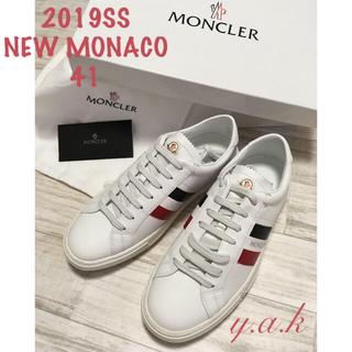 モンクレール(MONCLER)の2019SS   今季新作 モンクレール スニーカー メンズ 41(スニーカー)