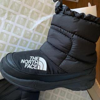 THE NORTH FACE - ノースフェイス キッズ ヌプシブーツ ブラック