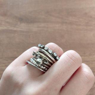 IOSSELLIANI - iosselliani 7連リング イオッセリアーニ 指輪