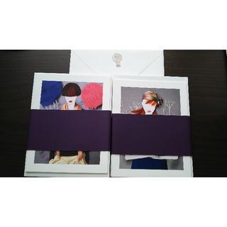 ルイヴィトン(LOUIS VUITTON)のルイヴィトン ポストカードと封筒 非売品(切手/官製はがき)