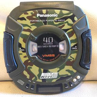 パナソニック(Panasonic)のshock wave CD ウォークマン 動作確認済(その他)