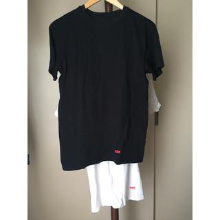 シュプリーム(Supreme)の【HANES × Supreme】2枚組Tシャツ(used)(Tシャツ/カットソー(半袖/袖なし))