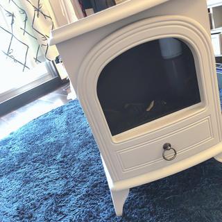 フランフラン(Francfranc)の暖炉型 ファンヒーター(電気ヒーター)