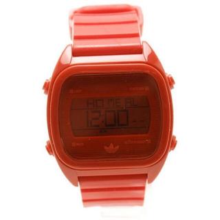 adidas - adidasアディダス☆レッドデジタル腕時計