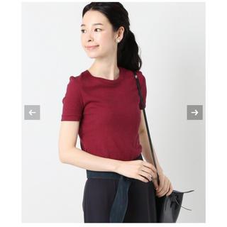 イエナ(IENA)の新品未使用☆ PETIT BATEAU ボーダークルーネック半袖Tシャツ 36(Tシャツ/カットソー(半袖/袖なし))