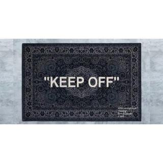 イケア(IKEA)のIKEA アートイベント 2019 VIRGIL KEEP OFF ラグマット(ラグ)