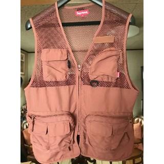 シュプリーム(Supreme)のsupreme mesh cargo vest(ベスト)