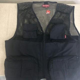 シュプリーム(Supreme)のsupreme mesh cargo vest 18ss(ベスト)