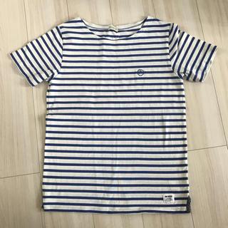ナノユニバース(nano・universe)のナノユニバース ボーダーTシャツ。(Tシャツ/カットソー(半袖/袖なし))