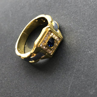 Blue sapphire color ring(リング(指輪))