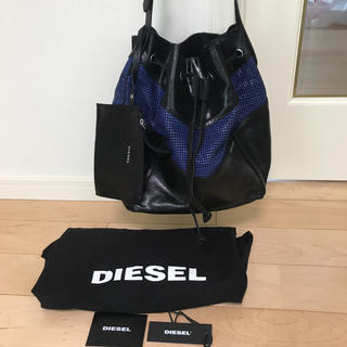 ディーゼル(DIESEL)の新品 未使用 DIESEL ディーゼル トート ショルダー バッグ 巾着(ショルダーバッグ)