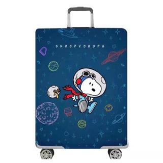 スヌーピー(SNOOPY)のSALE スーツケースカバー 宇宙スヌーピー  S(スーツケース/キャリーバッグ)