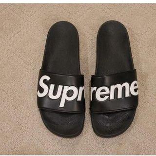 シュプリーム(Supreme)のSupreme シュプリーム Slide Sandals BLACK サンダル(サンダル)