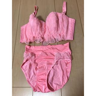 マルコ(MARUKO)の*女性のみ*MARUKOブラジャー・ショーツ上下 ピンク色(ブラ&ショーツセット)