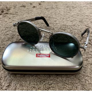シュプリーム(Supreme)の銀 Supreme Gaultier Sunglasses サングラス ゴルチエ(サングラス/メガネ)
