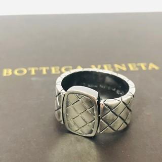ボッテガヴェネタ(Bottega Veneta)の35 ボッテガヴェネタ イントレチャート リング SV 14.2g 14号(リング(指輪))