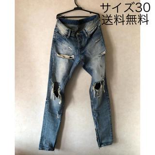 フィアオブゴッド(FEAR OF GOD)のmnml Side Zip Jeans ミニマム サイドジップ ジーンズ(デニム/ジーンズ)
