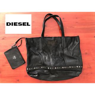 ディーゼル(DIESEL)のディーゼル studs bag  black(ショルダーバッグ)