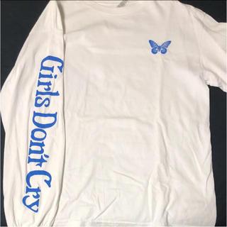 ユニクロ(UNIQLO)のgirls Don't  cry ロンT(Tシャツ/カットソー(七分/長袖))