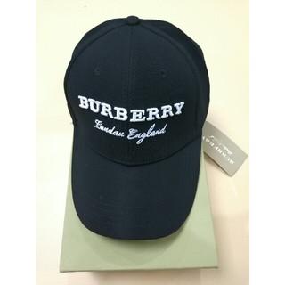 バーバリー(BURBERRY)のburberry バーバリー ブラック キャップ 男女通用(キャップ)