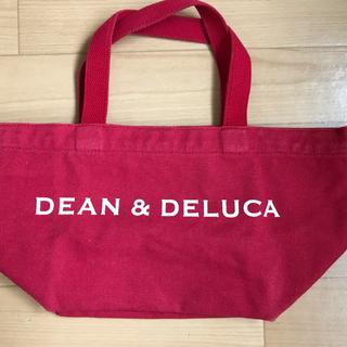 ディーンアンドデルーカ(DEAN & DELUCA)のDEAN&DELUCA トートバッグ 赤(トートバッグ)