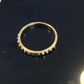 アイファニー(EYEFUNNY)のEYEFUNNY ピラミッド 18K リング 16号(リング(指輪))