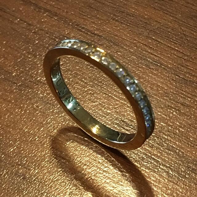 EYEFUNNY(アイファニー)のEYEFUNNY 18KYG✖︎ホワイトダイヤ エタニティリング  メンズのアクセサリー(リング(指輪))の商品写真