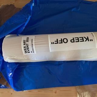 イケア(IKEA)のIKEA virgil abloh rag KEEP OFF 200 300(ラグ)