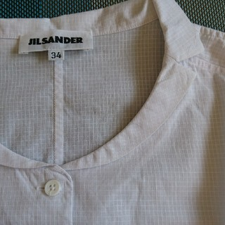 ジルサンダー(Jil Sander)のジル・サンダー コットンブラウス(シャツ/ブラウス(半袖/袖なし))
