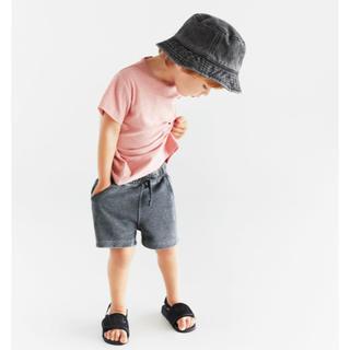 ザラ(ZARA)の【新品未使用】ZARA kids ユーズド加工入りバケットハット(帽子)
