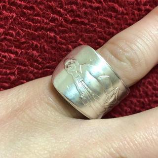 アンティーク リング スプーンリング USA 12号 調節可 サングラス 254(リング(指輪))