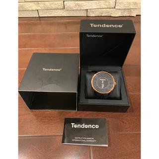 Tendence - TENDENCE(テンデンス) 腕時計 メンズ ラバーベルト 黒