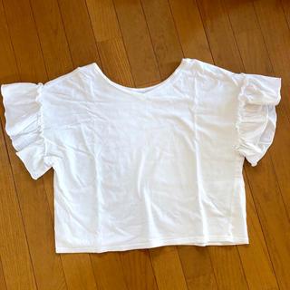 ウィゴー(WEGO)のフリルシャツ(Tシャツ(半袖/袖なし))