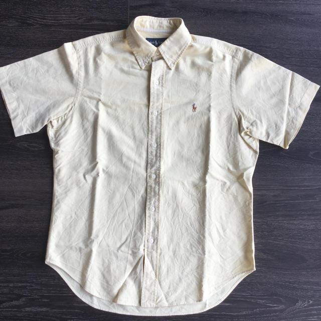 Ralph Lauren(ラルフローレン)のRalph Lauren オックスフォードB.D.半袖シャツ メンズのトップス(シャツ)の商品写真
