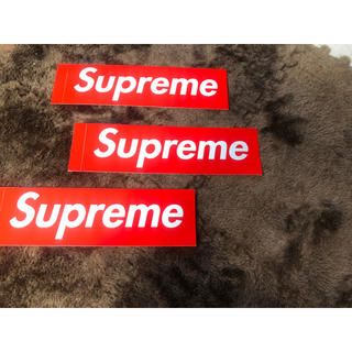 シュプリーム(Supreme)のsupreme ステッカー 3枚セット 残り6枚(ステッカー)