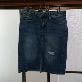 ギャップ(GAP)のGAP  デニムタイトスカート  美品(ひざ丈スカート)