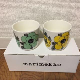 マリメッコ(marimekko)のマリメッコ ラテマグ マグカップ ケスティト(グラス/カップ)