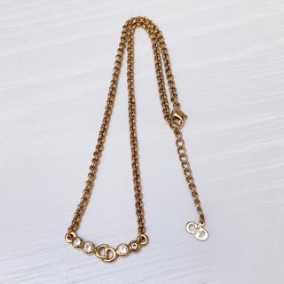 クリスチャンディオール(Christian Dior)のDior ディオール ゴールデン ネックレス(ネックレス)