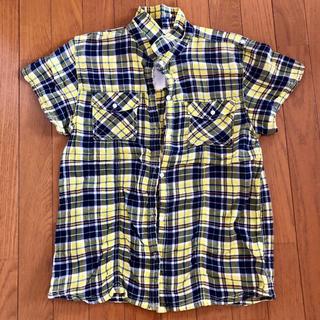 ライトオン(Right-on)のチェックシャツ(シャツ/ブラウス(半袖/袖なし))