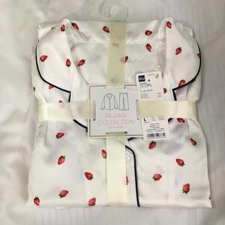 GU - 新品 GU イチゴ柄パジャマ 長袖