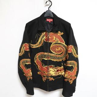 シュプリーム(Supreme)のMサイズ Supreme dragon work jacket black(パーカー)