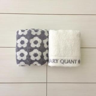 マリークワント(MARY QUANT)のマリークワント フェイスタオル 新品未使用(タオル/バス用品)