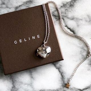 セリーヌ(celine)のCELINE セリーヌ ネックレス シルバー K10(ネックレス)