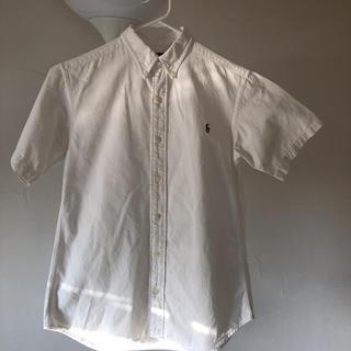 ラルフローレン(Ralph Lauren)のRalph Lauren   白 コットンシャツ  150㎝用  ❣️(ブラウス)