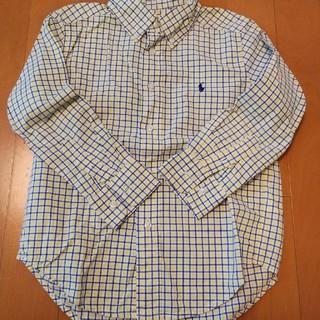 ラルフローレン(Ralph Lauren)のラルフローレン チェックシャツ 110(ブラウス)