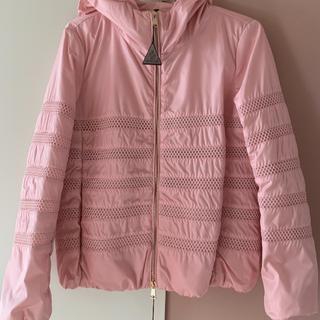 モンクレール(MONCLER)のモンクレール ピンク ナイロン ジャケット新品 00 pink(ブルゾン)