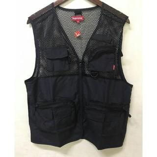 シュプリーム(Supreme)のsupreme mesh cargo vest 18ss (ベスト)