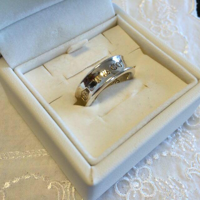 Tiffany & Co.(ティファニー)のT&CO.925シルバーリング メンズのアクセサリー(リング(指輪))の商品写真