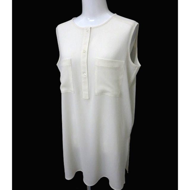 GU(ジーユー)のgu ノースリーブオーバーブラウス レディースのトップス(シャツ/ブラウス(半袖/袖なし))の商品写真