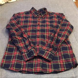 UNIQLO - メンズ  UNIQLO チェックシャツ
